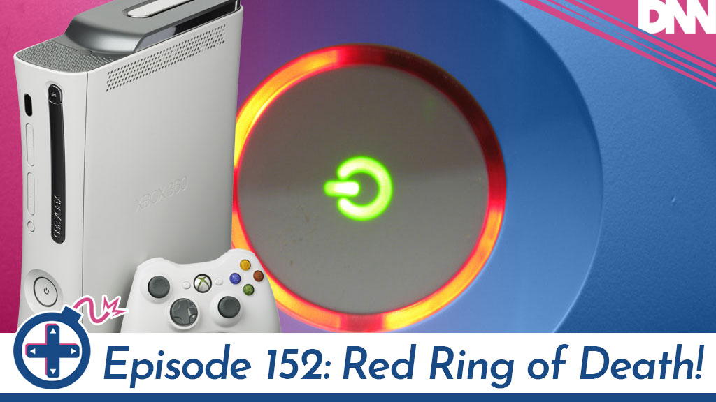 xbox 360 with a red ring of death